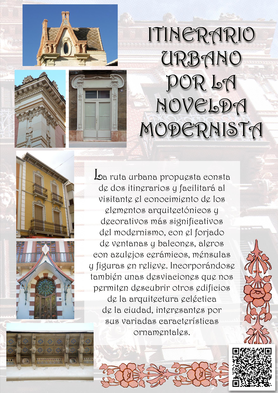 Portada del folleto sobre el modernismo
