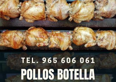Pollos Botella