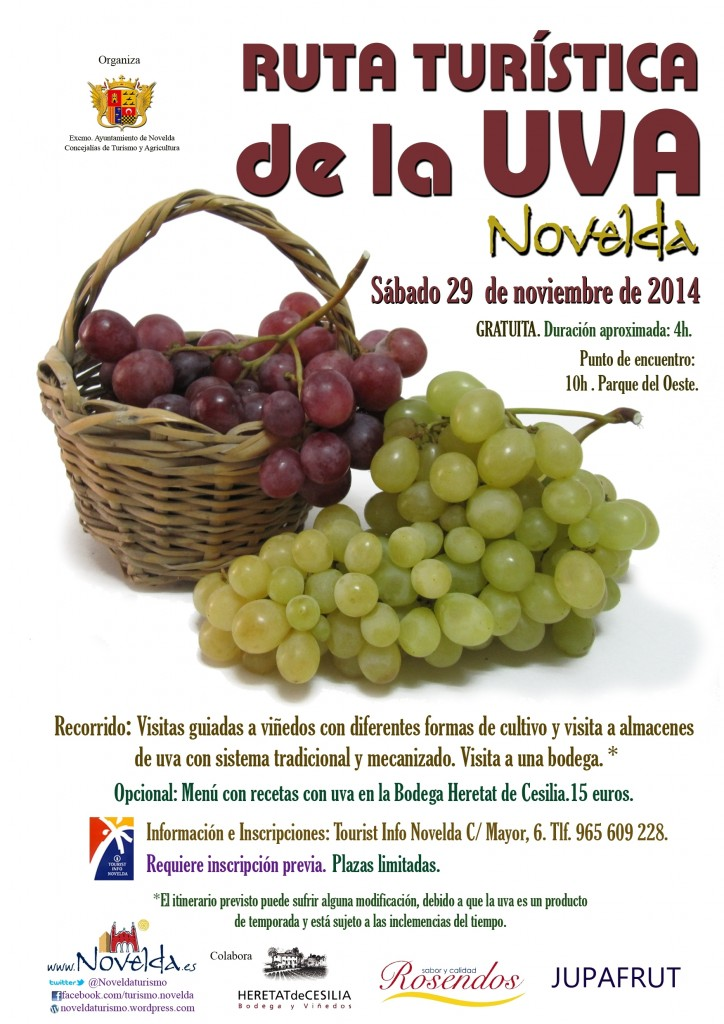 RUTA UVA NOVIEMBRE 2014 Novelda, Alicante, Costa Blanac, Comunidad Valenciana, Spain