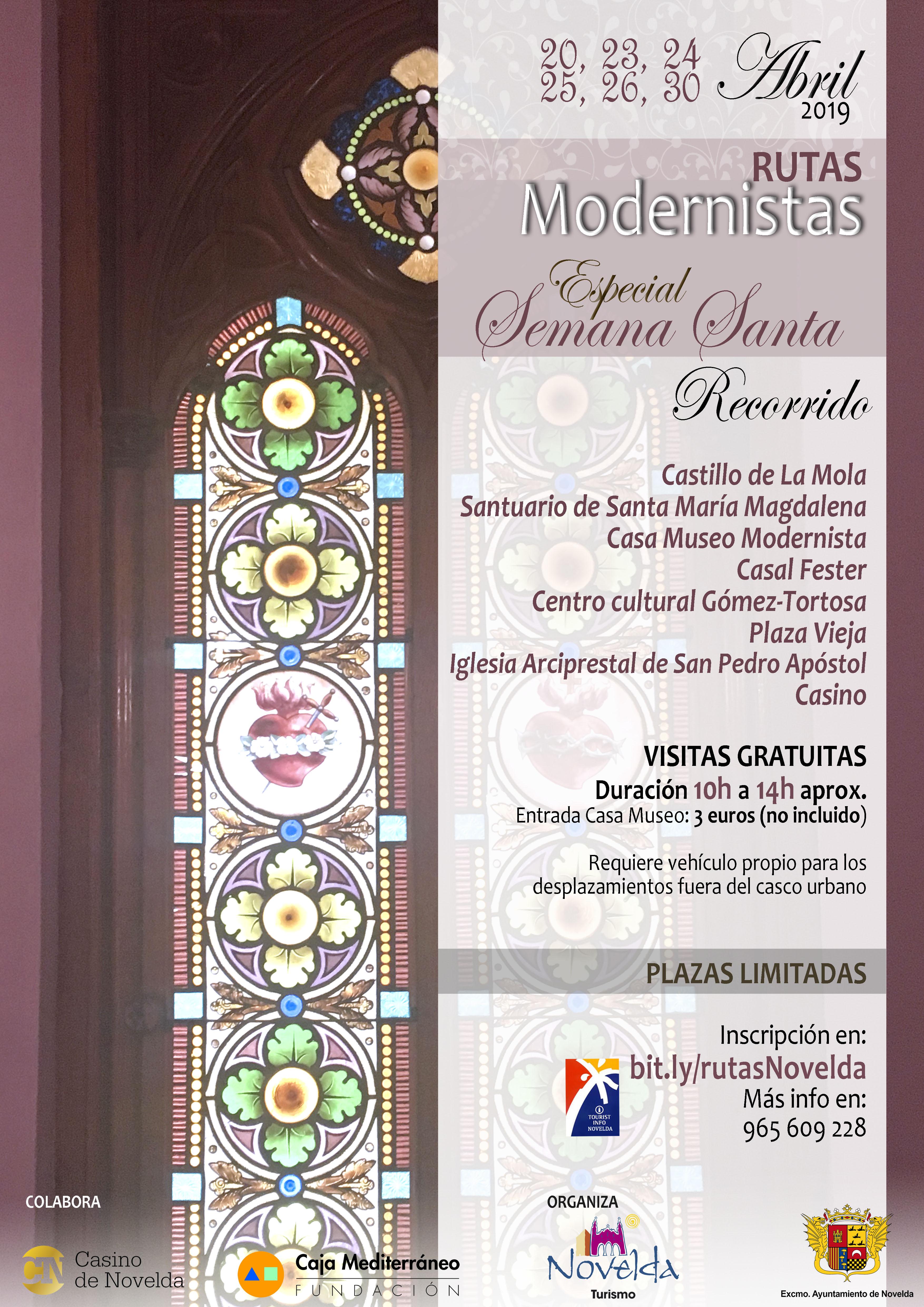 Ruta Modernista semana santa
