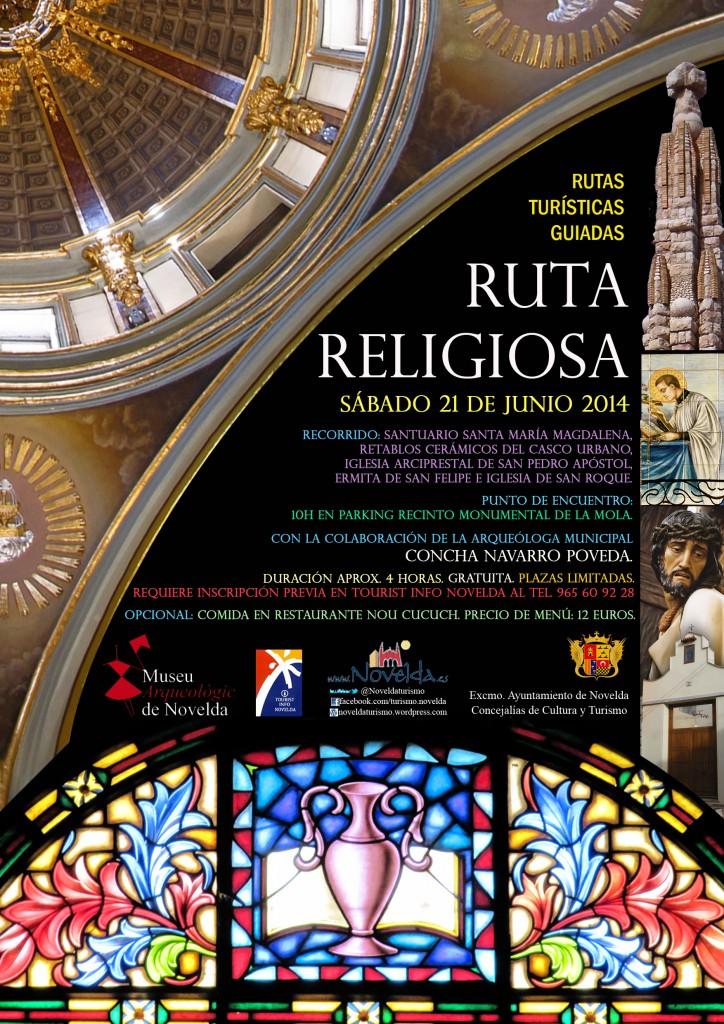 Ruta religiosa junio 2014, Novelda, Costa Blanca, Alicante, Comunidad Valenciana