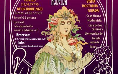 Visitas nocturnas Casa Museo Modernista octubre 2020