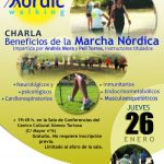 cartel charla nordic walking