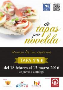 portada tapas Novelda 2016