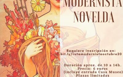 Ruta modernista 3 de octubre 2020