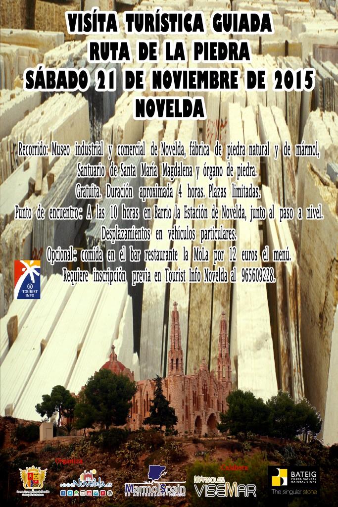 ruta piedra Novelda noviembre 2015 Alicante Comunidad Valenciana