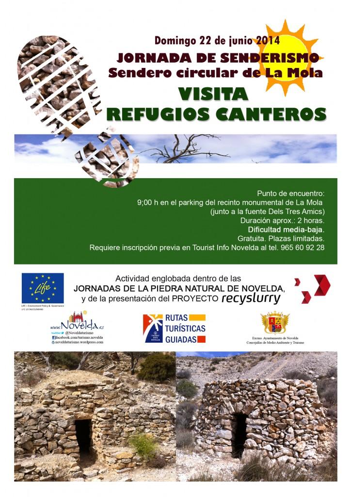 ruta senderista junio 2014 Novelda, Costa Blanca, Alicante, Comunidad Valenciana